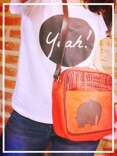 Yeah!!! Con morral by Dorothy.