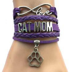 1pc Lolita Girls Cat Planet Pattern Bracelet Kawaii Sweet Style Wristband Gifts