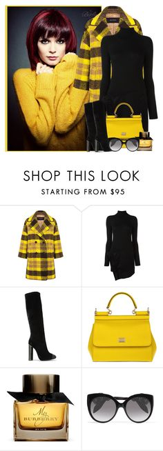 """""""Untitled #430"""" by radamorrison ❤ liked on Polyvore featuring Pink Tartan, Dsquared2, Tom Ford, Dolce&Gabbana, Burberry and Alexander McQueen"""