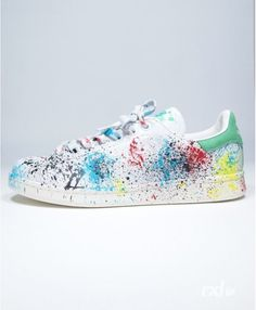chaussures adidas stan smith rxl custom peindre stains contrairement la conception du style prcdent