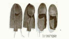 DIY moccasins