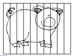 Pig Puzzle: Counting from 10 to 19 Tier Puzzle, Special Ed Teacher, File Folder Games, Farm Animals, Puzzles, Worksheets, 3 D, Field Trips, Counting