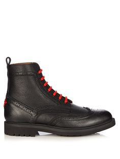 Commando leather ankle boots | Givenchy | MATCHESFASHION.COM
