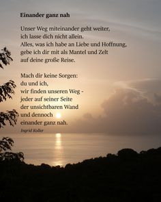 """Einander ganz nah Related posts:Schweige und HandleLove quote - """"You put your arms around me and I'm home"""" - love lyrics {Courtesy . Live Quotes For Him, True Quotes About Life, Life Is Too Short Quotes, Deep Quotes About Love, Love Quotes In Hindi, I Love You Quotes, Life Quotes To Live By, Positive Quotes For Life, Love Yourself Quotes"""