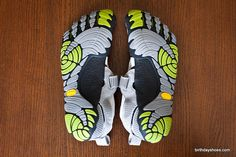 KomodoSport Vibram FiveFingers - Spring 2011 toe shoes with the new lateral-cutting, insole'd KomodoSport design; this photo is from a review of the women's KomodoSport and includes photos from a hike up Yosemite Half-Dome.