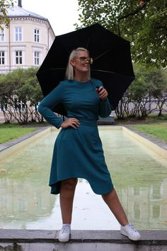 Essie Skirt Green Pernille Fristad Kepaza playful, inclusive, girl power and sustainability designer fashion brand Norwegian Fashion, S Curves, Fashion Brand, Fashion Design, Sustainable Clothing, Green Sweater, Comfortable Outfits, A Line Skirts, Essie