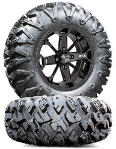 MSA M17 Elixir Wheels EFX MotoClaw Tires