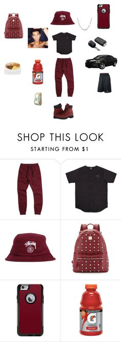 """""""Untitled #91"""" by tnasty15 ❤ liked on Polyvore featuring Zanerobe, Stussy, Timberland, MCM, OtterBox, men's fashion and menswear"""