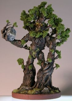 Games Workshop Warhammer Treeman Ent Conversion Painted II