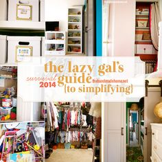 The Lazy Gal's Guide : One Year Later