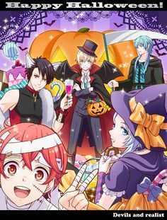 Happy Halloween! Makai Ouji:Devils and Realist