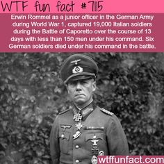 This officer captured 19,000 enemies with 150 men - WTF fun facts