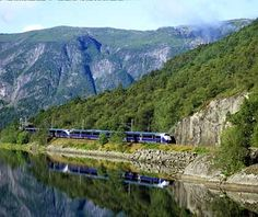 Bergen Railway, Norway  Northern Europe's highest railway overlooks some of the most pristine glacier-carved fjords in Norway. The seven-hour train crosses the high mountain range between Oslo and Bergen, then runs across the windswept, barren Hardangervidda mountain plateau, the largest protected wilderness area in Europe. Later it descends through lush valleys to the Hanseatic city of Bergen.  Insider Tip:  For plenty of daylight hours, travel in the summer