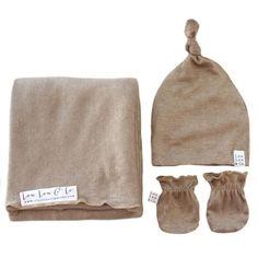 Gold Metallic Glitter Essential Newborn Bundle (Top Knot Hat)