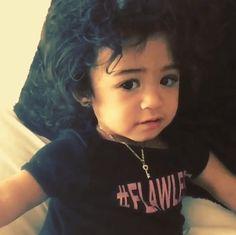 Chris Brown's daughter Royalty