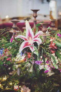 stunning candelabra by Tè Rosa Tables