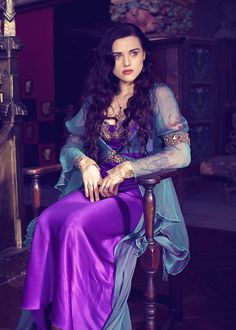 1)This is Morgana from Merlin  2)I want her dress  3)I. LOVE. HER CHARACTER