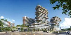 什么是未来社区?未来社区案例展示! Luxury Apartments, Multi Story Building, Green, Design, Apartments