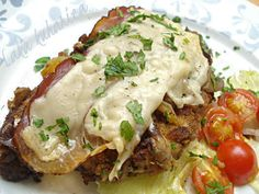 Veal Chops Veal Cutlets Osso Buco Veal Scallopini Veal Roasts Veal Stew Ground Veal Veal Tenderloin Veal Steaks Veal Breast Breaded veal cutlets with prosciutto Beef Steak Recipes, Veal Recipes, Veal Cutlet, Fish And Meat, Prosciutto, Casserole Dishes, Italian Recipes, Main Dishes