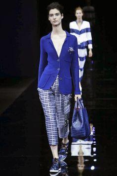EMPORIO ARMANI - Spring Summer 2015 - Milan Fashion Week