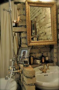Virlova Style: [Decotips] Saca a la luz el ladrillo de tus paredes!