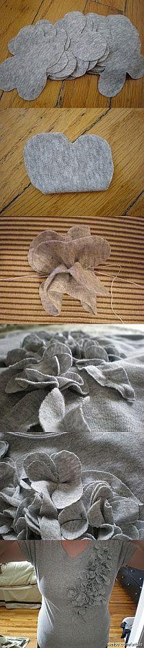 DIY designer sweater