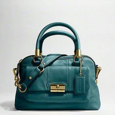 Coach - Kristin Satchel - Smoke Blue