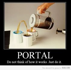 Coffee - Portal Style