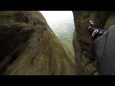 ▶ Flying Dagger wrist cam Jeb Corliss - YouTube