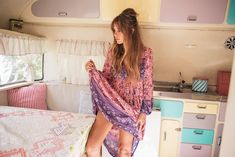 Christina Macpherson for Spell & The Gypsy Collective | Folk Town Boho Dress