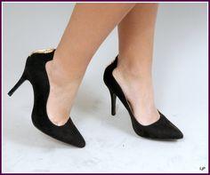Escarpins vague noir