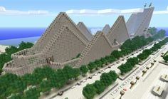 Awesome roller coaster minecraft