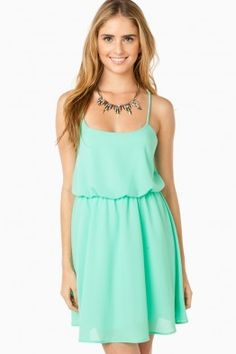 McLane Dress in Mint