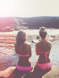 Pictures like this make me miss summer with my best friend.