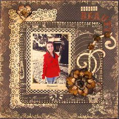 Layout: Natural Beauty - Scraps of Darkness
