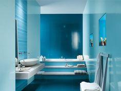 Dise Os Y Modelos De Cer Mica En Diferentes Colores Y Tama Os Para Colocar En Cuarto De Ba O Blue White Bathroomswhite Bathroom Decormodern
