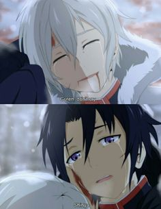 Guren and Shinya / Owari no Seraph