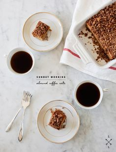 Almond and Cinnamon Coffee Cake   27 Delicious Dishes For An All-Day Brunch Party