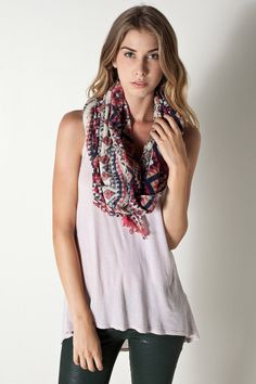 Guatemala Quilt Scarf by Spun By Subtle Luxury