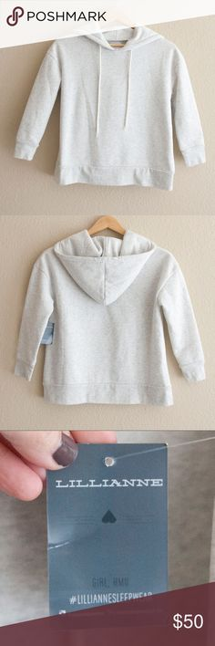 "NWT Lillianne Hoodie Sweatshirt NWT Lillianne Hooded Sweatshirt Sz S.***This is NWT!!!***  Approximate Measurements: Chest:  20"" Length:  22"" Lillianne Tops Sweatshirts & Hoodies"