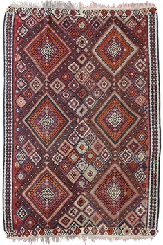 Vintage Turkish Kilim from Cadrys Classic