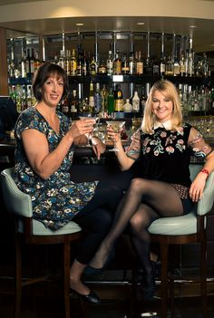 Miranda Christmas special: first look pictures feature Miranda Hart and Sarah Hadland. I do love them so.