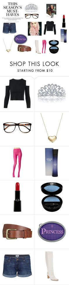 """Colored Hair"" by chrisone ❤ liked on Polyvore featuring Bling Jewelry, ZeroUV, Signature Gold, Betsey Johnson, Giorgio Armani, Will Leather Goods, Paige Denim, Maison Margiela and H&M"