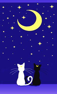 SAILOR MOON iPhone5 - Cover Luna y Artemis by JackoWcastillo