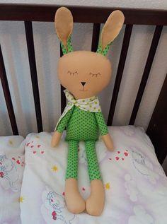 Spinkáčik v zelenom pyžamku