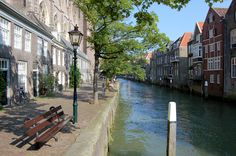 Dordrecht, the oldest city in the Netherlands- and it is an island. Hope you see what I mean with needing to be near water.