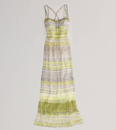 AE Printed Corset Maxi Dress | American Eagle Outfitters