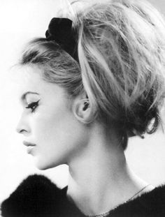 Bardot - I think I need to get a little heavy handed with the eye liner and pouf up my hair a bit