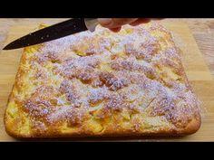 Mindenki ezt a receptet keresi! A szájában elolvadó almás pite! Egyszerű és nagyon finom - YouTube German Cakes Recipes, Cake Recipes, Apple Galette, Breakfast Dishes, Apple Recipes, Relleno, Gluten Free Recipes, Apple Pie, Fondue