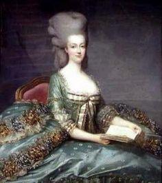 1777 Marie-Antoinette, artist not identified